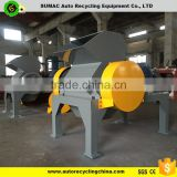 Single shaft waste plastic shredder