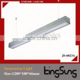 Hot Sale! two tube up and down office hanging light fixture JS-6023A
