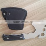 Excellent Full Tang Outdoor Hunting Camp Timber wood handle Stainless Steel Hatchet Hand Tool