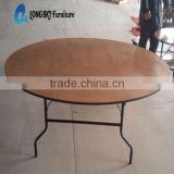 high quality plywood folding table/plywood banquet tables
