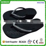 China Quanzhou summer fashion sexy girls eva high heel slippers sandals