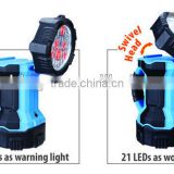 3 in 1 Dual Head Rechargeable Spot Light, Portable Lamp
