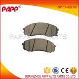 auto parts ceramic brake pad for hyundai h1 oem 58101-4DE00