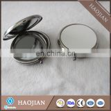 blank sublimation metal pocket mirror makeup double sided mirror