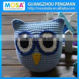 Skye Blue Boys Lovely OWL Animal Crochet Stuffed Doll,Display Crochet Toy