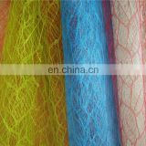 best selling polyester maple leaf mesh fabric for flower package flower wrapping tulle