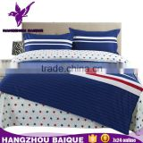 Cheap Cotton Modern <b>Queen</b> Size French <b>Bedroom</b> <b>Set</b>s with Stripes and Dots