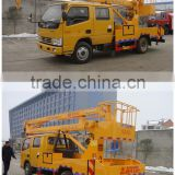 hot sale best price of dongfeng 14m high altitude work truck