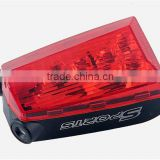 Laser Beams Bike Bicycle Laser Tail Light Rechargeable 5 LED Cycling Rear Light Waterproof Bike Taillight Tail Lamp