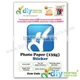 Sticker Paper 135g (Matte) (A4) (20 sheets/pkt)