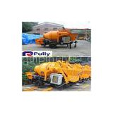 Pully JBT40-P1 hydraulic trailer concrete mixer pump, concrete pump mixer, concrete pump