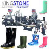 Rotary Martin Boots and Children Rain Boots Injection Molding Machine