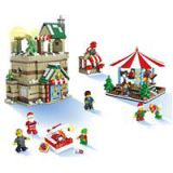 JJRC 1003 1595PCS Building Blocks Merry-Go-Round Christmas Gift