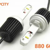 Latest 60W led auto headlights 880/881 60W car led headlights