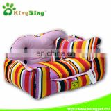 colorful pet bed