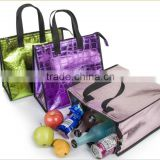 Cheap and fashion insulated lunch picnic pp non woven cooler bag