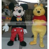 Custom fur Costumes, Mascot Design plush costume(Mouse & barney)