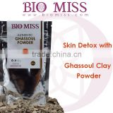 Newest Skin Care Authentic & Natural Ghassoul Clay Finest Powder - Cleans & Purifies - Face & Body Detox Mask