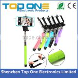 Extendable handheld monopod selfie stick for ipod touch 5