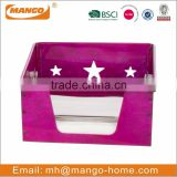 Customized square steel paper napkin holder