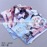 Wholesale beautiful cute cartoon poster cheap collection Anime Poster 8pcs a set