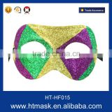 Custume Carnival Accessories HT-HF015 Plastic Half Face Party Eye Mask and Transparent Plastic Face Mask