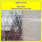 Perforated <b>Foil</b> <b>scrim</b> <b>Kraft</b>