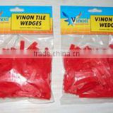Plastic tile wedges(tile wedge,tile spacer,tile tool)