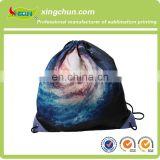 Promotional Durable Custom Polyester Drawstring Bag