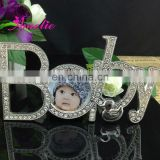 A8156 Metal Baby Letter funny baby photo frames