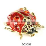 Ladybug brooches pin ,cheap animal sharped brooches with pin cheap ,costume brooch with rhinestone