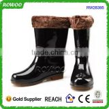 mens boots, man made material boots,pvc rain boots for man