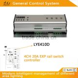 2016 New huge capacity dmx 512 rail switch light controller