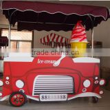 New type caravan trailer Fast Food Trailer with kichen for sale