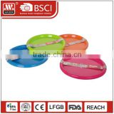 Wolesale cheap plastic food grade PP pizza plate