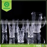 best quality drinking water glass set water pitcher sets