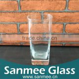 Square Shaped Factory Glass Drinking Cup