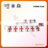 Custom promotion hanging national flags on string