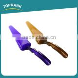 Toprank SGS Inspection Accepted Wholesale Food Grade Plastic Wedding Party Cake Knife Server Set,Cake Cutter Cake Knife