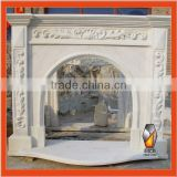 Hand Carved Stone Fireplace Mantel