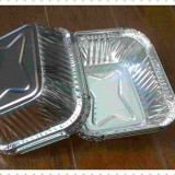 disposable aluminium foil airline food containers