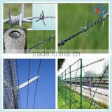 barbed iron wire mesh fence/hot dip galvanised barbed wire