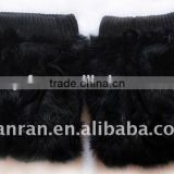 YR143 Real Rabbit Patchwork Fur Leg Warmer Factory Direct Sale Cheap Fur Leg Warmer