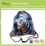 2015 Promotional new style polyester drawstring backpack