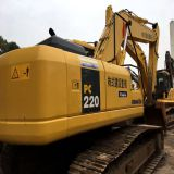 Komatsu pc220-7 excavator for used road machinery