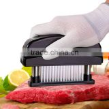 48 Blades Needle Meat Tenderizer Stainless Steel Knife Kitchen Cooking Tools Mallet Meat Tenderizer Hammer Cooking Tools KC1476
