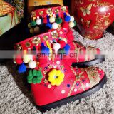 Aidocrystal 2016 NEW Plush Inside Waterproof Cute Women Girls Boots Warm Winter Snow Boots for wholesale