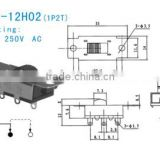 SS-12H02 Slide Switch