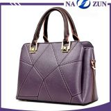 Fashion elegance ladies handbag custom high quality women pu leather handbags with wholesale price