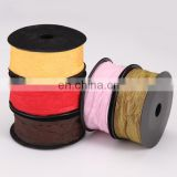 high quality gift bownot wrapping ribbon colorful organza gift packing ribbon